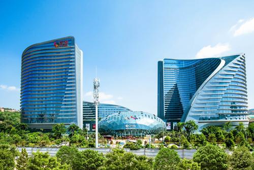 重庆美的中央空调案例-云南省七彩云南花之城酒店