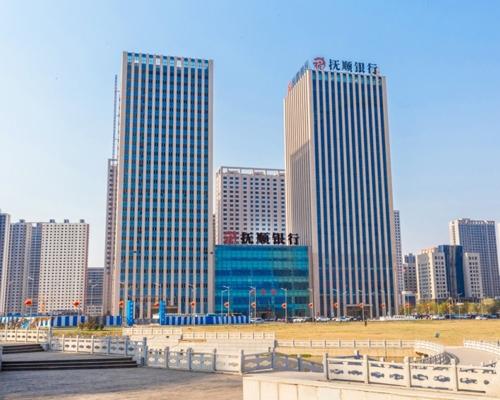 商业建筑-辽宁省抚顺银行