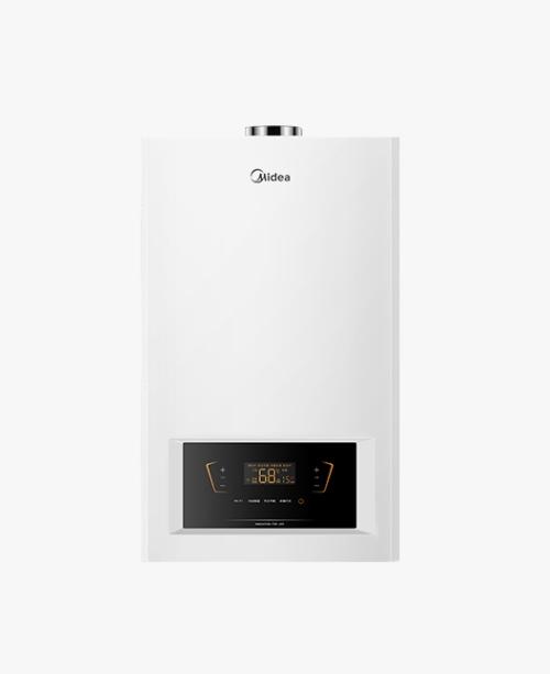 美的家用燃气壁挂炉采暖洗浴两用天然气热水器 手机智控板换式L1PB26-C18适用80-200平